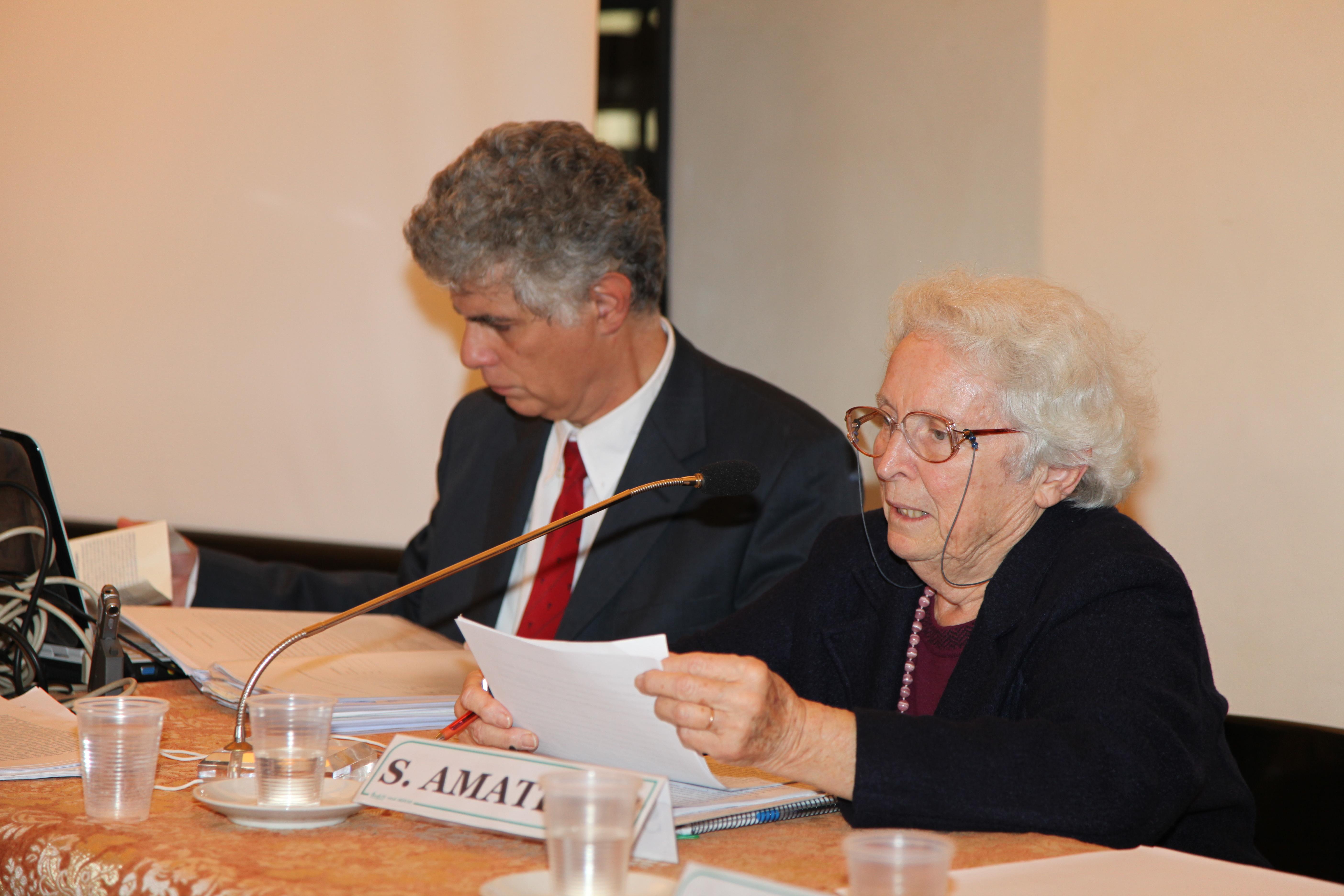 Convegno                                                                                                2010 PSICOANALISI E LUOGHI DELLA NEGAZIONE: relazione di Silvia Amati Sas